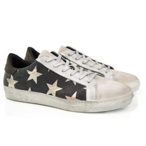 air and grace cru black star trainers