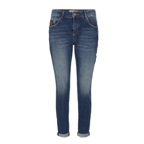 Mos Mosh bradford feather jeans
