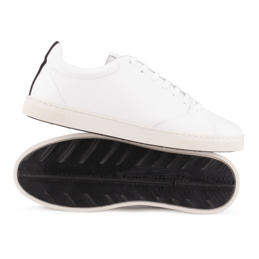 OTH Gravière White Leather Trainers