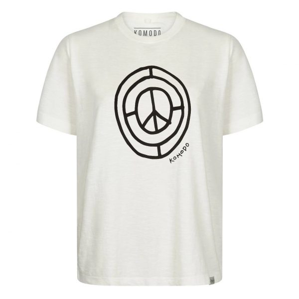 Sign Of Times Organic Cotton Tee Off White