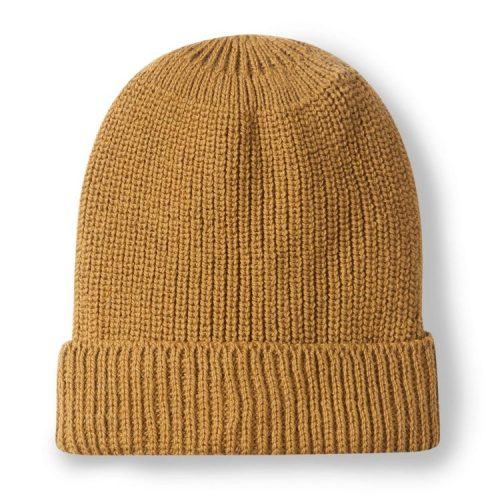 Porter Ribbed Beanie Wheat