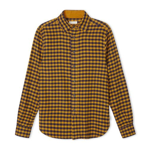Preston Cotton Shirt Mustard