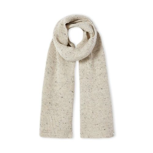 Porter Ribbed Scarf Oatmeal