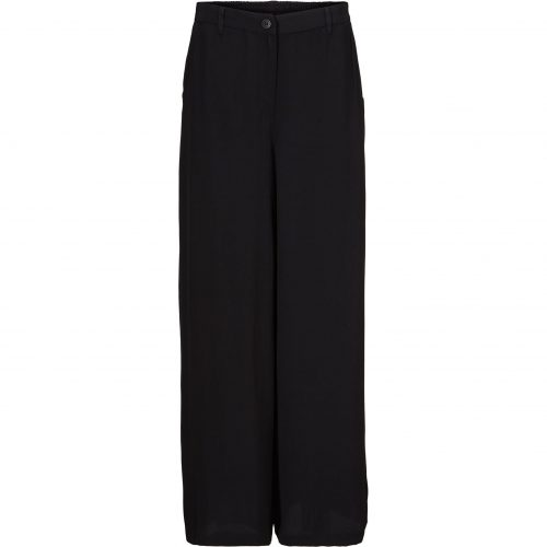 Perinus Viscose Trousers Black