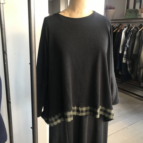 Mama B Bamboov1 Top Black